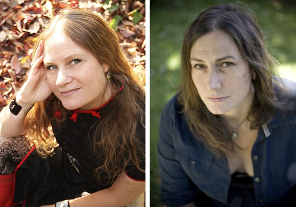 <p>Hawthorne&#8217;s Lidia Yuknavitch (left) and Portland author Vanessa Veselka, author of <cite>Zazen</cite>, share a free-ranging conversation on the literary site <cite><a href=